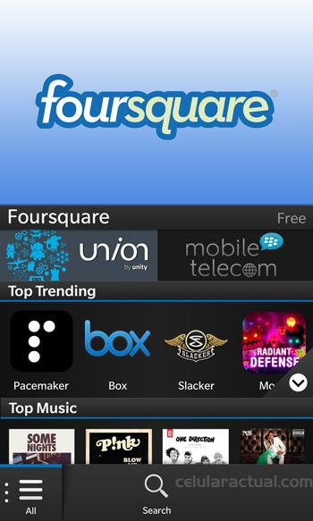 BlackBerry 10 App World