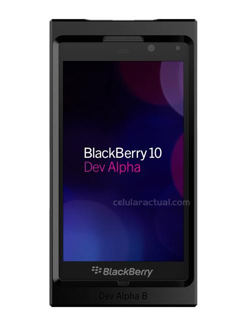BlackBerry 10 Dev Alpha smartphone