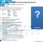 BlackBerry 10 Aristo, un Quad core con 2 GB en RAM