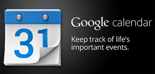 Google Calendar app para Android