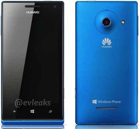 Huawei Ascend W1 imagen y especificaciones con Windows Phone 8 se filtran