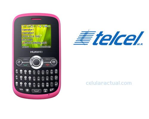 Huawei G6006 en México con Telcel Logo