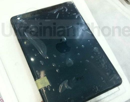 iPad mini en color negro carcaza tapa