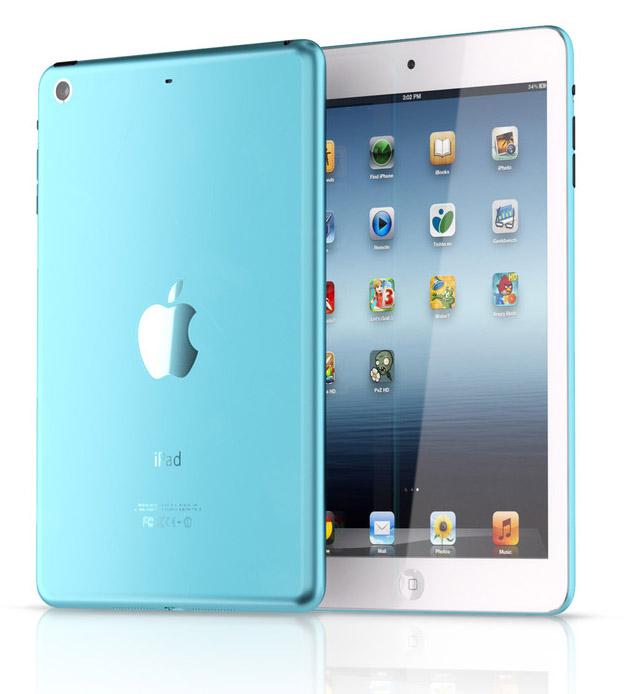 iPad mini color azul