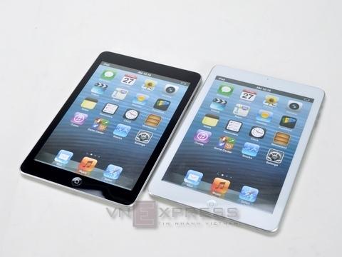 iPad mini maqueta dummy comparación iPad 3