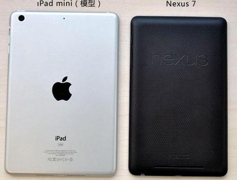 Comparan iPad mini con Nexus 7