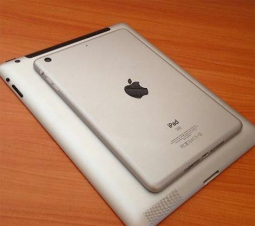 iPad mini comparada con iPad 3