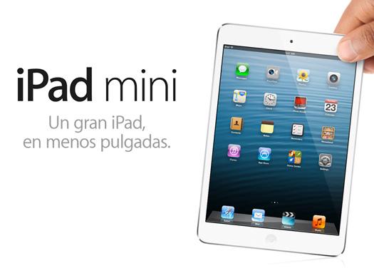 iPad mini  ya es oficial aquí los detalles y precios