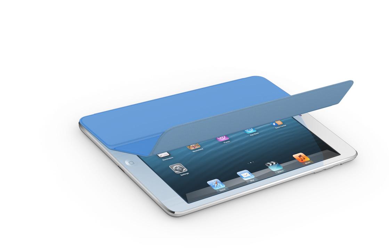 iPad mini color blanco con su nueva Smart Covers