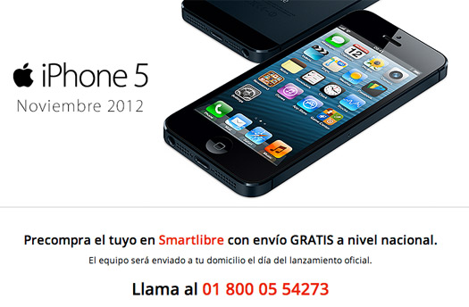 iPhone 5 ya en preventa en Iusacell