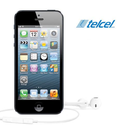 iPhone 5 en Telcel México el 2 de noviembre