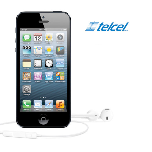 El iPhone 5 en venta nocturna en Mexíco con Telcel  1 de noviembre