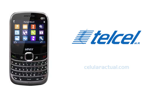Lanix LX14 pantalla touch, QWERTY y TV con Telcel
