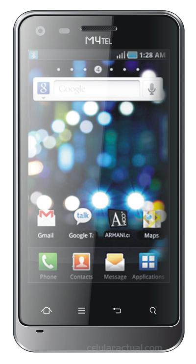M4tel SS550 Genius Android 2.3 ya en Telcel color negro