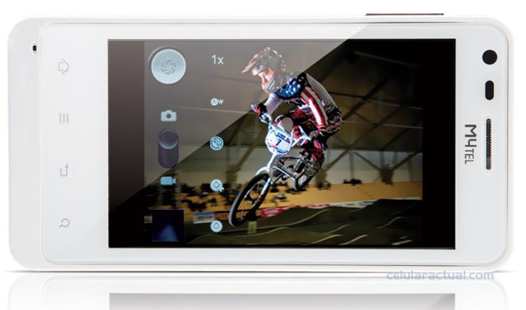 M4tel SS550 Genius Android 2.3 ya en Telcel color blanco