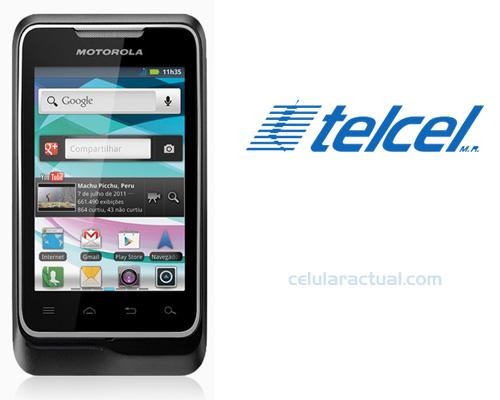 Motorola Motosmart Me XT303 ya en México con Telcel