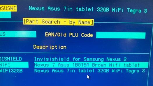Pantalla filtrada del Nexus 2 y tablet Nexus 7 de 32 GB