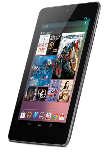 La Nexus 7 tablet
