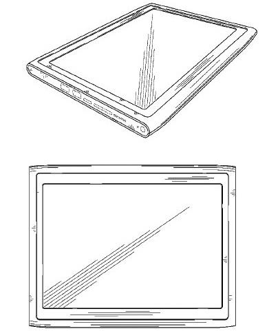 Nokia diseño patente de dos tablets en 2011