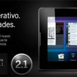 Actualización de BlackBerry PlayBook OS 2.1 características