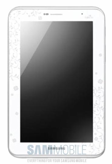 Samsung Galaxy Tab 2 edición La Fleur series para mujeres