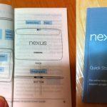 Fotos del Samsung Nexus 10 y su guía de inicio rápido se filtran
