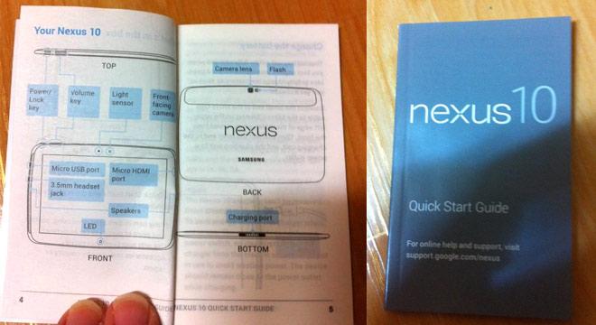 Fotos del Samsung Nexus 10 rumor guía rápida