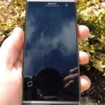 El Sony C650X  Odin el phablet captado en vivo
