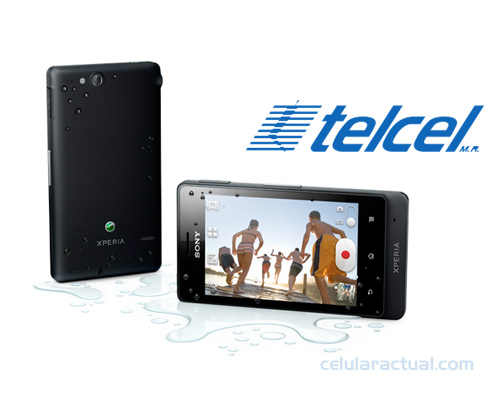 Sony Xperia go en México con Telcel