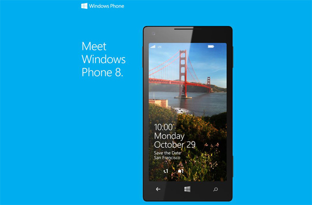 Meet Windows Phone 8 Microsoft Invitación Octubre 29