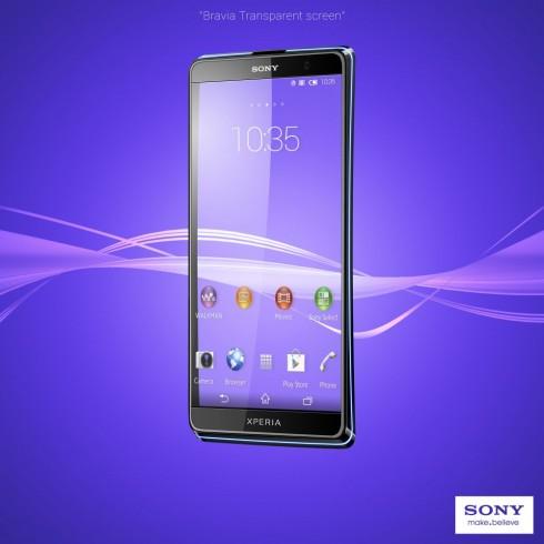 Sony Xperia 2013 concepto