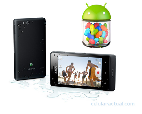 Sony Xperia go con Android 4.1 Jelly Bean