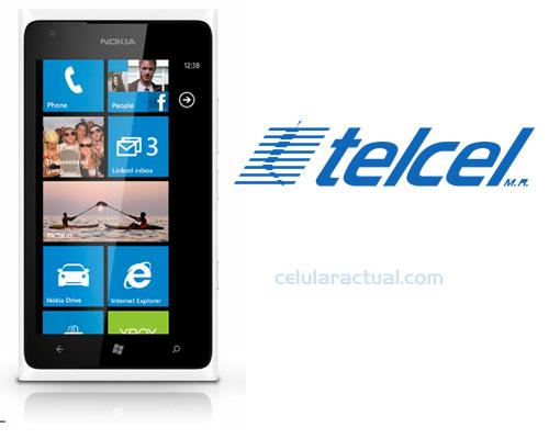 Nokia Lumia 900 LTE en México con Telcel