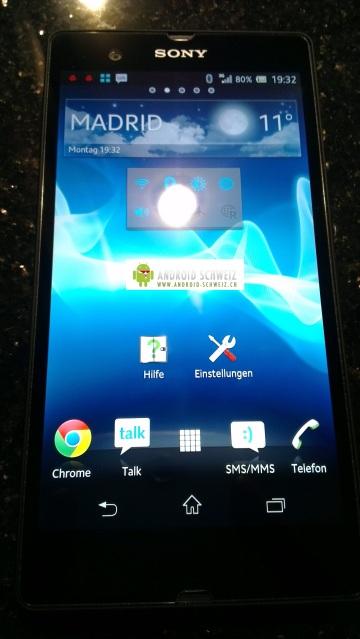 Sony Yuga Android Jelly Bean filtrado
