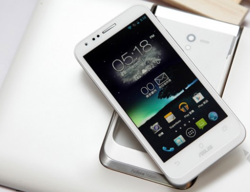 Asus Padfone 2 en color blanco