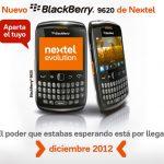BlackBerry 9620 pronto en México con Nextel