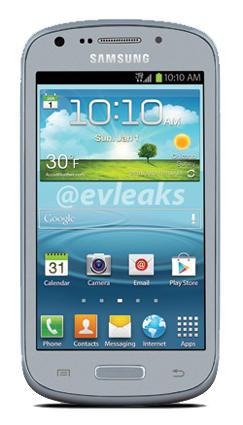 Samsung Galaxy Axiom foto filtrada 4 pulgadas dual-core Android ICS