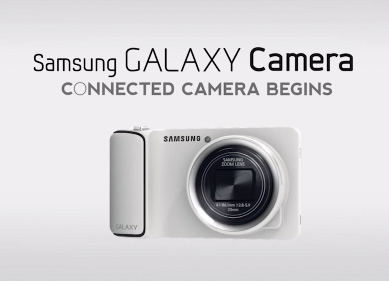 Samsung Galaxy camera en Video