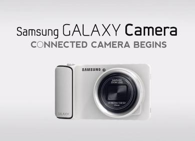 Samsung Galaxy camera en Video