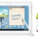 Samsung Galaxy Note 10.1 comienza a recibir Android 4.1 Jelly Bean