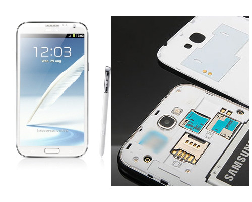 Samsung Galaxy Note II en China con dual SIM