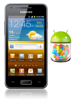 Samsung Galaxy S Advance con Android Jelly Bean 4.1 en enero
