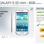 Samsung Galaxy S III mini comienza a venderse