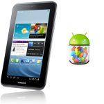 Galaxy Tab 2 7.0 comienza a recibir Android Jelly Bean