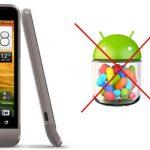 Smartphones HTC con 512 en RAM no obtendrán Android 4.1 Jelly Bean