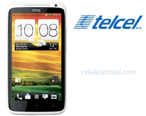 HTC One X en México con Telcel