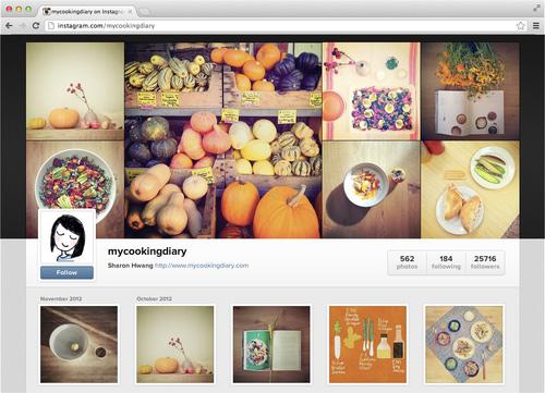 Instagram  perfiles en Web