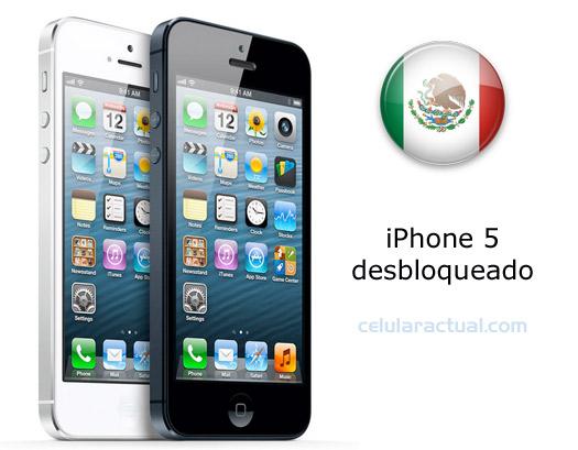 iPhone 5 desbloqueado en México