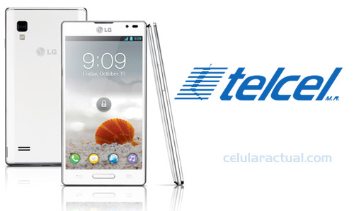 LG Optimus L9 en México con Telcel