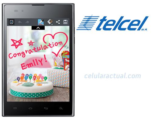 LG Optimus Vu en México con Telcel